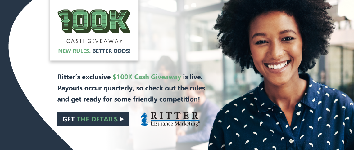 Get the details on Ritter's $100 Cash Giveaway