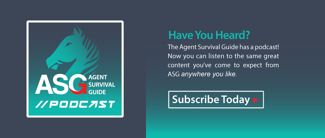 Agent Survival Guide has a Podcast! Check it out!